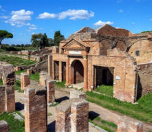 Ostia Antica excavations and Museum