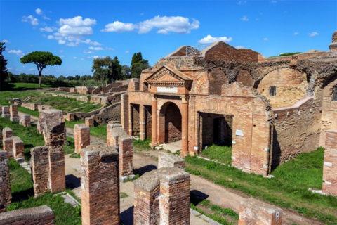 Ostia Antica excavations and Museum