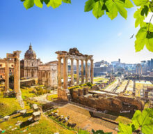 Colosseum, Forum Romanum and Palatine Hill