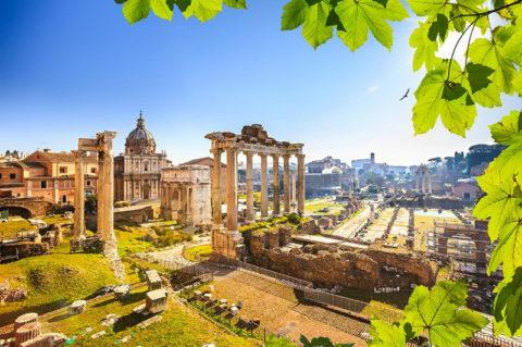 Colosseum, Forum Romanum and Palatine Hill