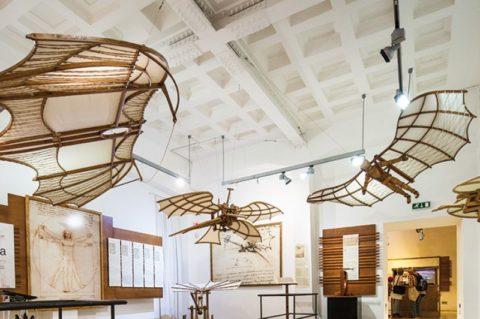 Da Vinci New Dimension. The genius and his inventions