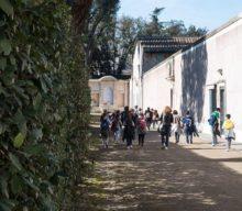 Little explorers at Villa Medici
