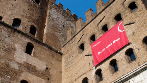 A museum in the fortress: Porta San Sebastiano at the Aurelian Walls