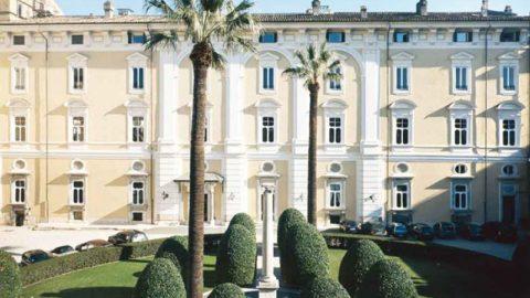 Visiting Palazzo Colonna