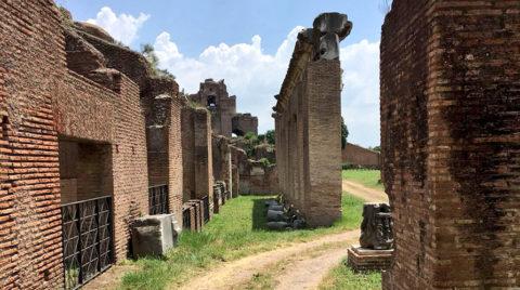 Itinerari nel verde alle pendici del Palatino