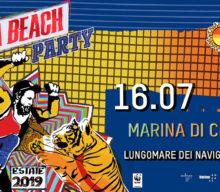 Jovanotti in Jova Beach Party 2019, the Italian Beach Tour