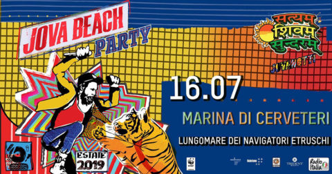Jovanotti in Jova Beach Party 2019, the Italian Beach Tour