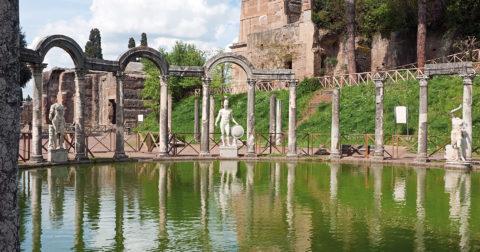 Villa Adriana in Tivoli, the Residence of the Emperor