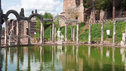 Villa Adriana in Tivoli, the Residence of the Emperor