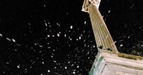 Neve in pieno agosto a Santa Maria Maggiore
