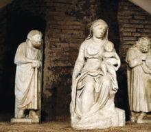 The Arnolfo di Cambio Christmas Nativity Scene