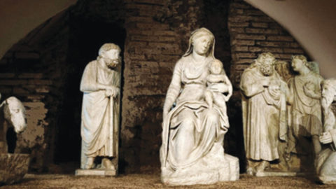 The Arnolfo di Cambio Christmas Nativity Scene
